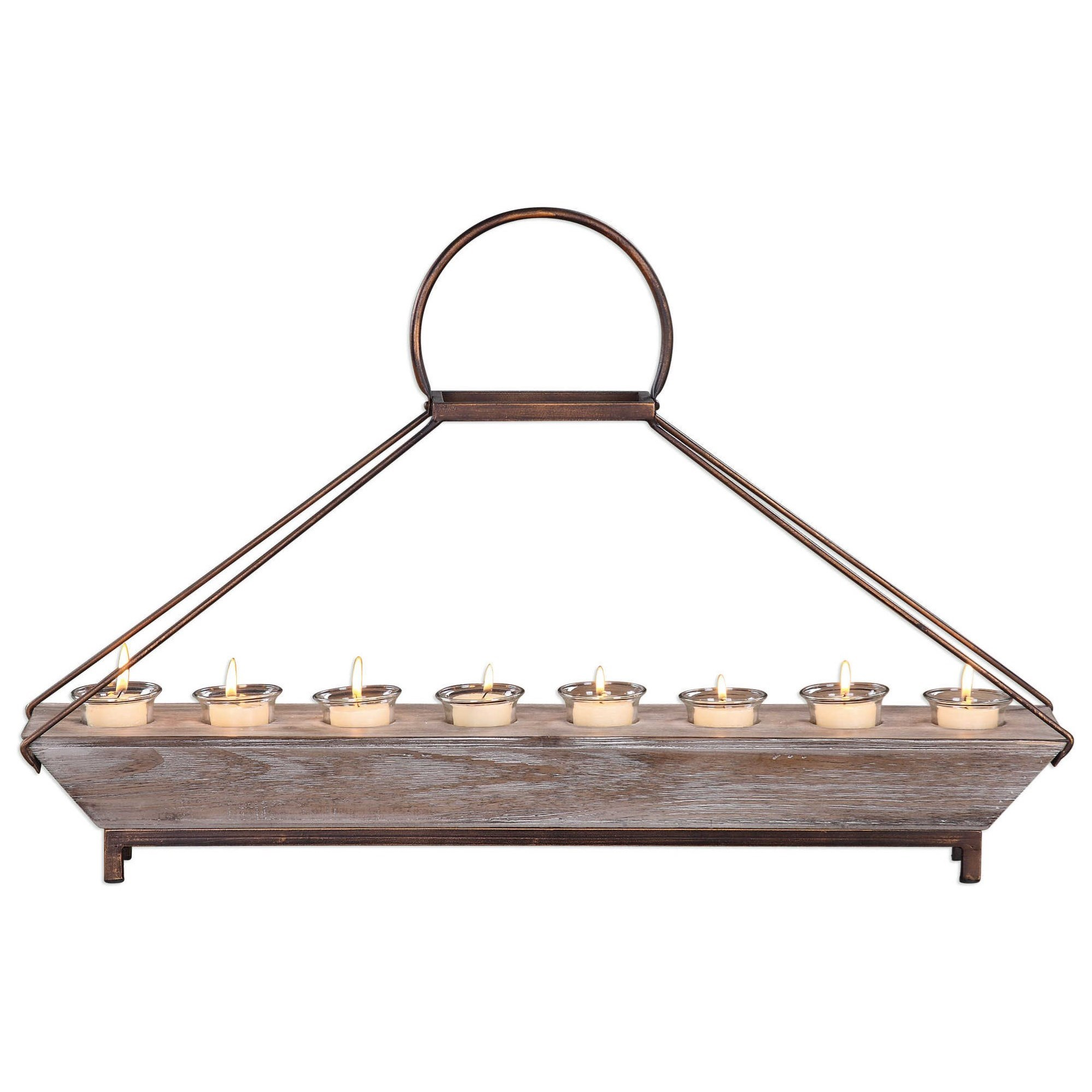 Accessories - Candle Holders Benigna Tea Light Candleholder by Uttermost at Reid's Furniture
