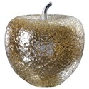Uttermost Accessories - Statues and Figurines Golden Apple Sculpture - Item Number: 18765