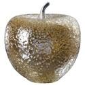 Uttermost Accessories Golden Apple Sculpture - Item Number: 18765