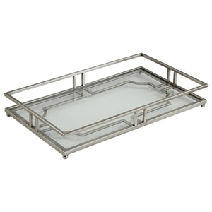 Uttermost Accessories Rafaela Silver Tray