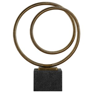 Uttermost Accessories Oja Gold Sculpture