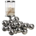Uttermost Accessories Kesi Cluster of Spheres Candleholder - Item Number: 18785