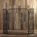Uttermost Accessories Binti Dark Brown Fireplace Screen