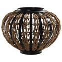 Uttermost Accessories - Statues and Figurines Aren Rope Woven Sculpture - Item Number: 18795