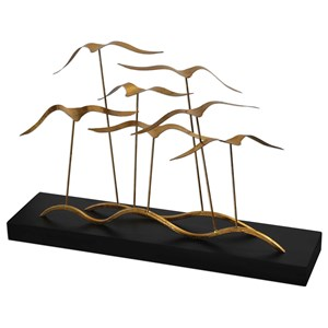 Uttermost Accessories Flock of Seagulls Sculpture