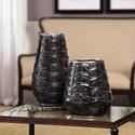 Uttermost Accessories Kapil Tortoise Shell Vases Set of 2