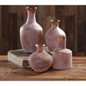 Uttermost Accessories Carri Rust Red Vases Set of 4