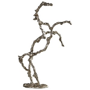 Uttermost Accessories Rearing Stallion Sculpture