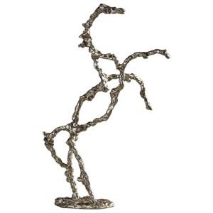 Uttermost Accessories Rearing Stallion Sculpture