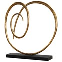 Uttermost Accessories Oma Twisted Gold Sculpture - Item Number: 18813
