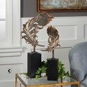 Uttermost Accessories Quill Feathers Sculpture Set of 2