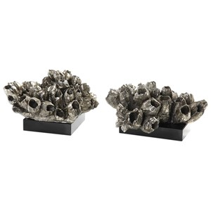 Uttermost Accessories Sessile Barnacle Sculptures Set of 2