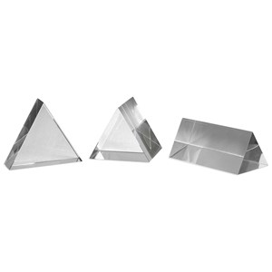 Uttermost Accessories Triangle Trio Sculptures Set of 3