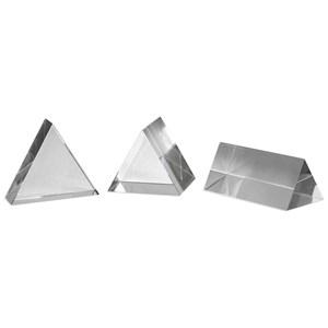Uttermost Accessories Triangle Trio Sculptures Set of 3