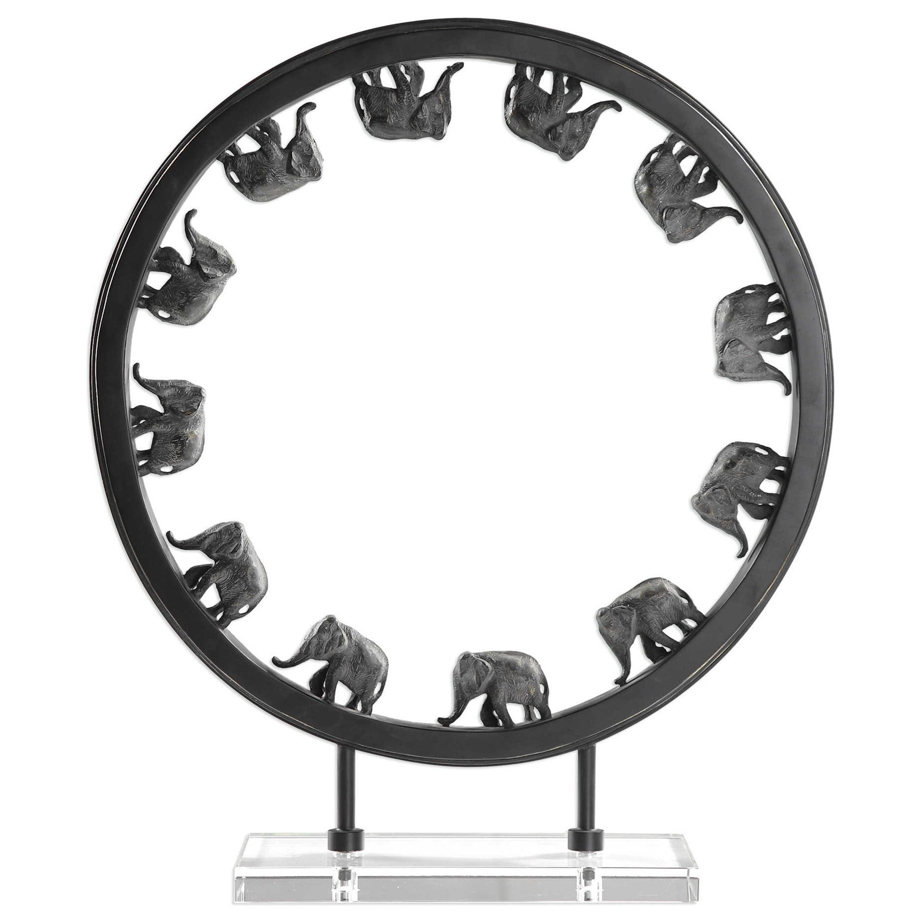 Elephant Walk Sculpture