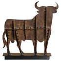 Uttermost Accessories - Statues and Figurines Toro Rust Brown Tabletop Accent - Item Number: 18839