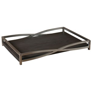 Hima Dark Walnut Tray