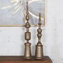 Uttermost Accessories Nalini Antique Gold Finials Set of 2