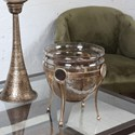 Uttermost Accessories Asmita Gold Glass Bowl