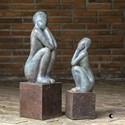 Uttermost Accessories Jayin Figurine Sculptures, S/2