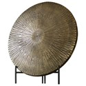 Uttermost Accessories Achen Antiqued Brass Charger - Item Number: 18864