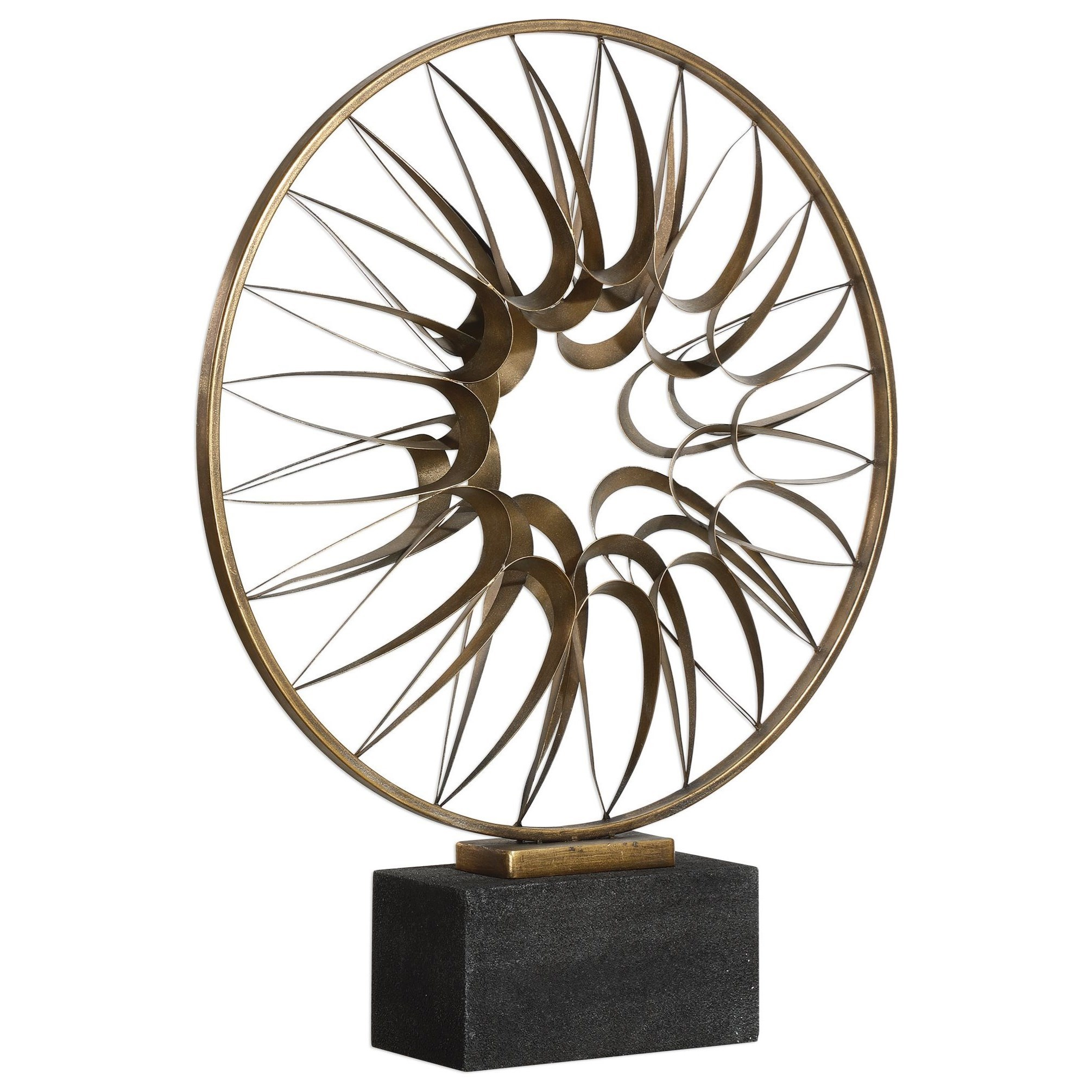 Accessories - Statues and Figurines Leyla Bronze Sculpture by Uttermost at Mueller Furniture