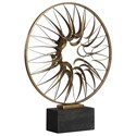 Uttermost Accessories - Statues and Figurines Leyla Bronze Sculpture - Item Number: 18895