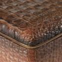 Uttermost Accessories Nyra Crocodile Box