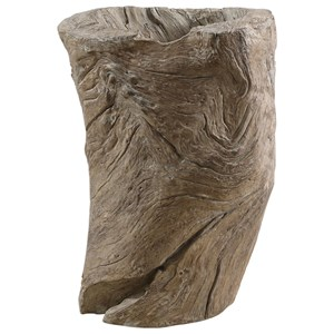 Uttermost Accessories Willow Tree Stump Planter