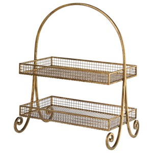 Callen Wire Shelved Fruit Basket
