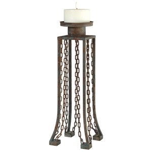 Uttermost Accessories Danu Aged Iron Candleholder