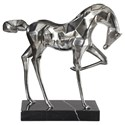 Uttermost Accessories - Statues and Figurines Phoenix Horse Sculpture - Item Number: 18921