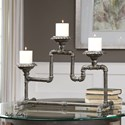 Uttermost Accessories Bristow Industrial Candleholder