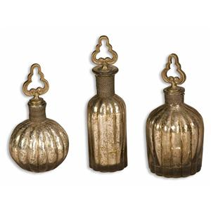Uttermost Accessories Kaho Perfume Bottles Set of 3