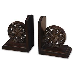 Uttermost Accessories Chakra Bookends Set of 2