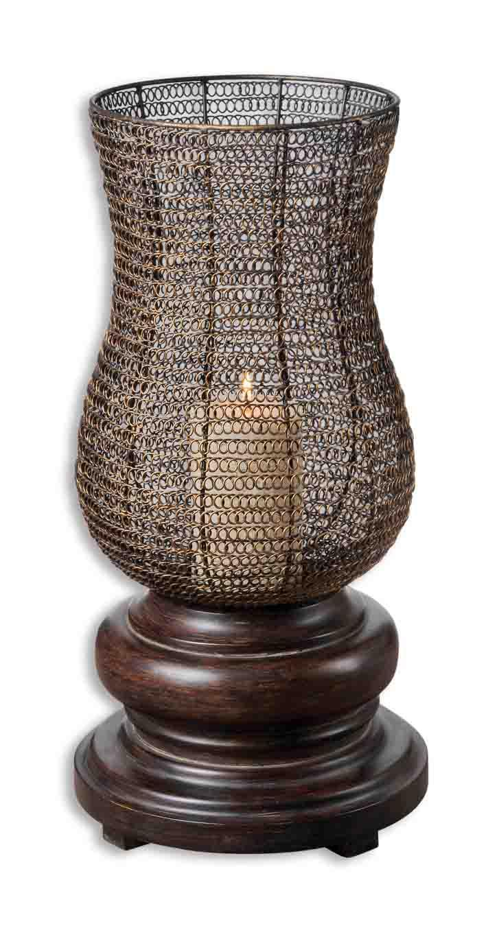 Uttermost Accessories Rickma Candleholder - Item Number: 19290