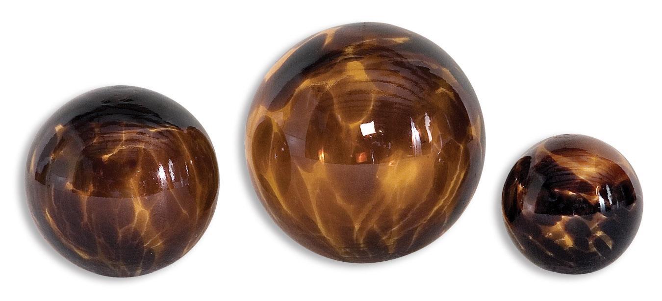 Uttermost Accessories Kameko Spheres Set of 3 - Item Number: 19321