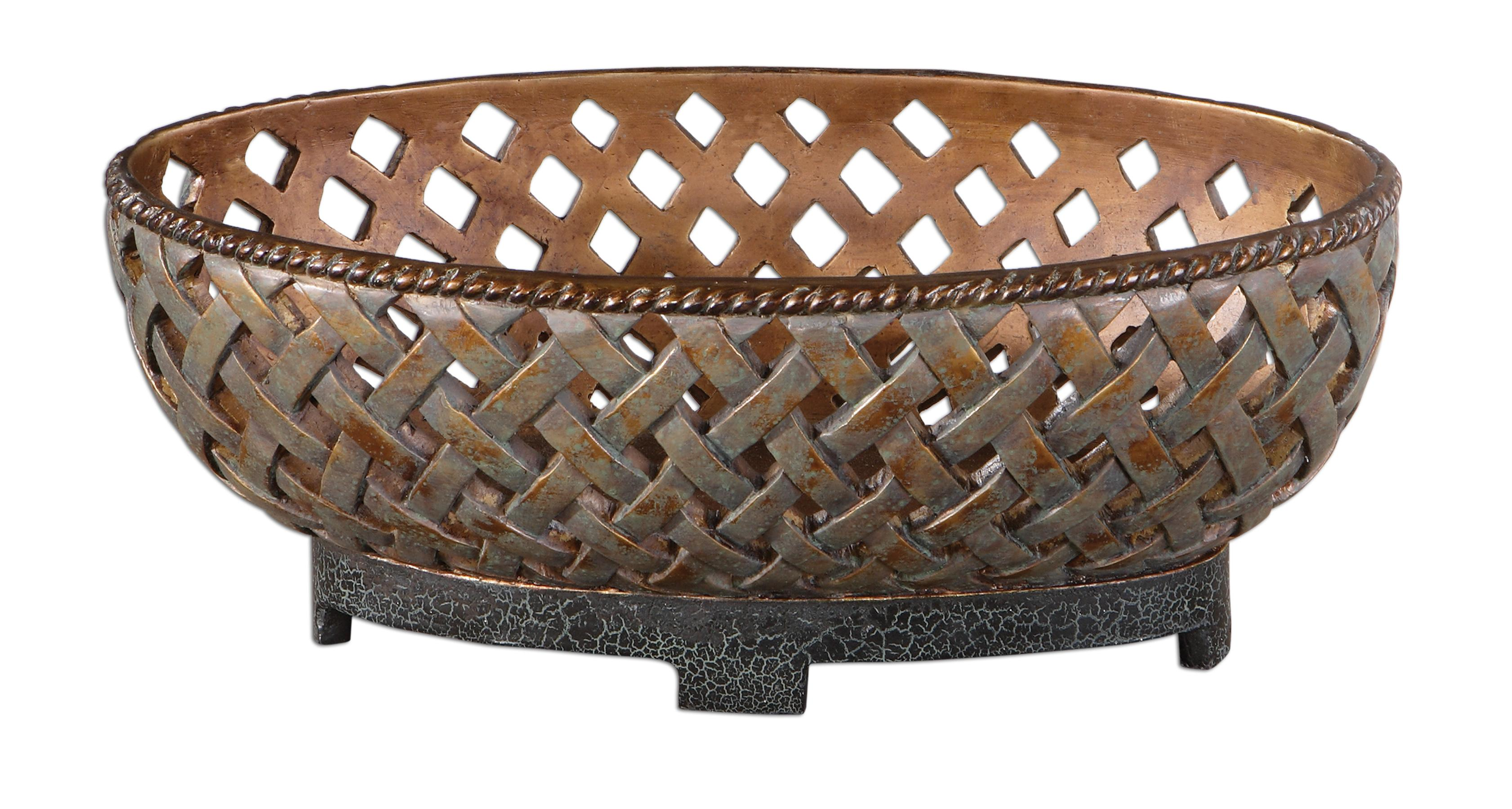 Uttermost Accessories Teneh Bowl - Item Number: 19539