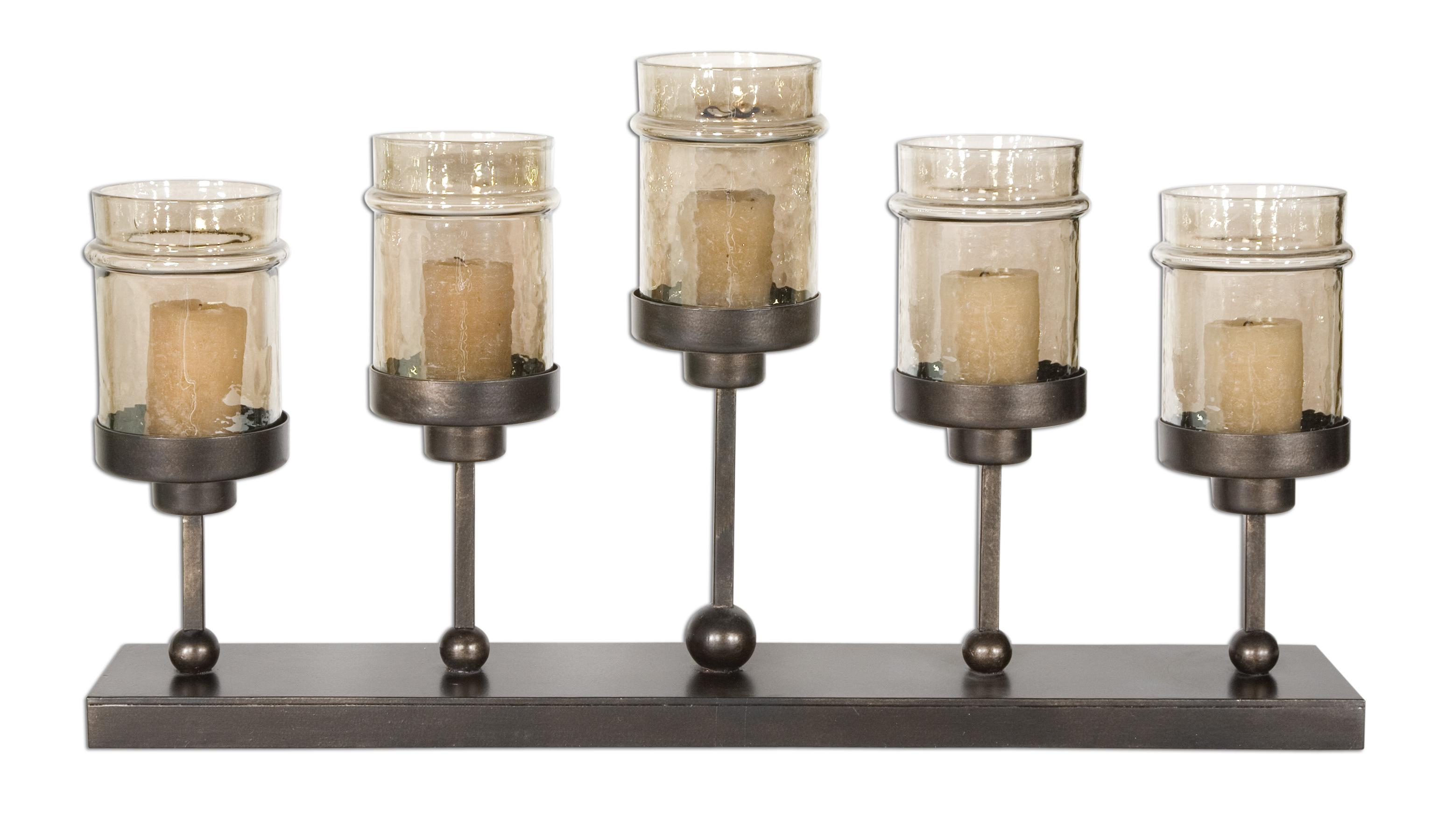 Accessories - Candle Holders Lamya Candelabra by Uttermost at Suburban Furniture
