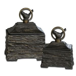 Uttermost Accessories Birdie Boxes Set of 2