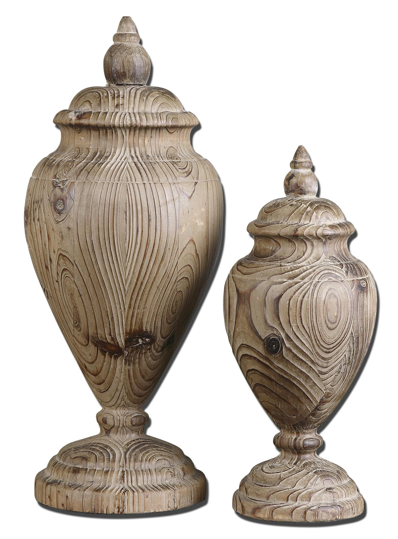 Accessories - Statues and Figurines Brisco Finials Set of 2 at Becker Furniture