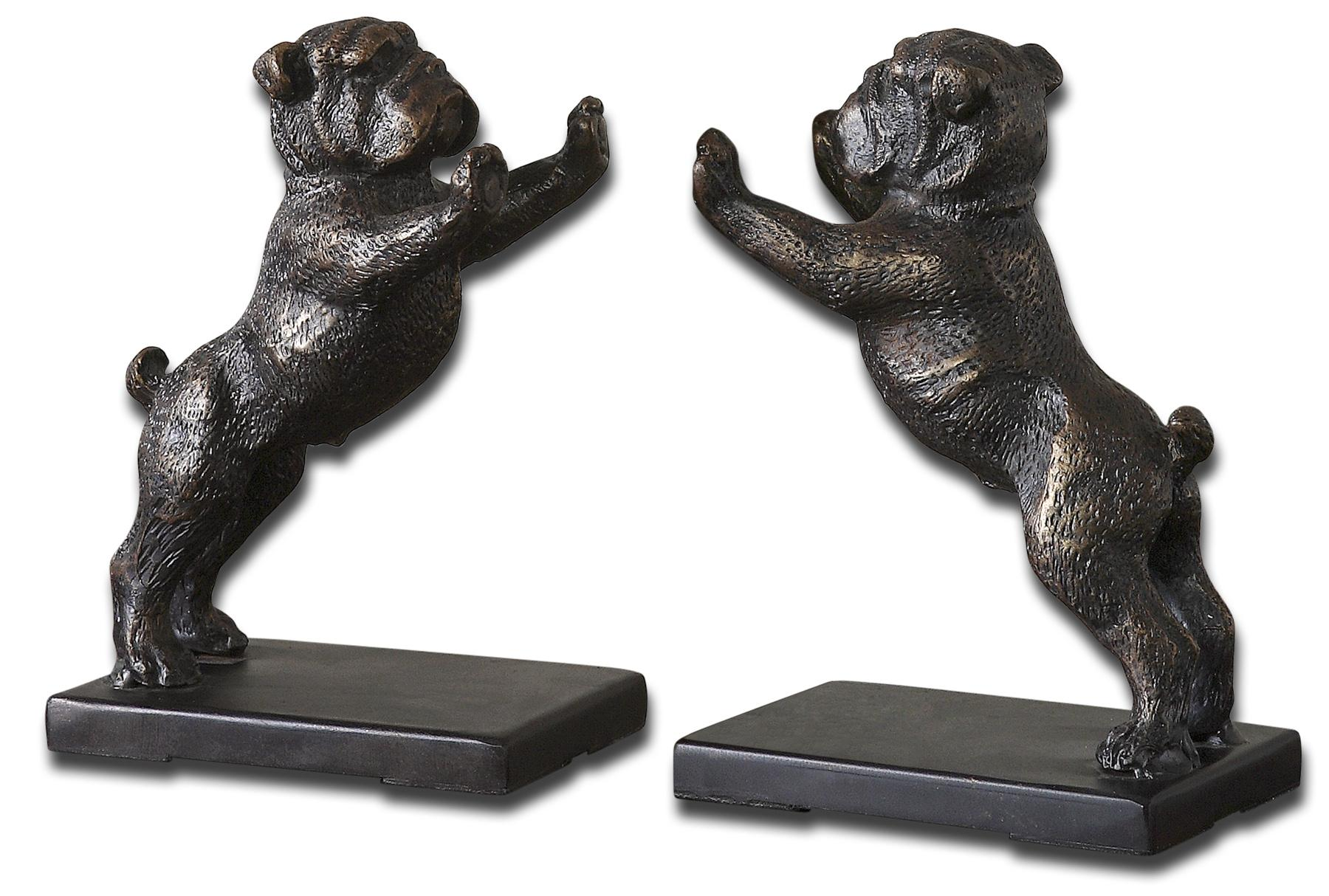 Uttermost Accessories Bulldogs Set of 2 - Item Number: 19643