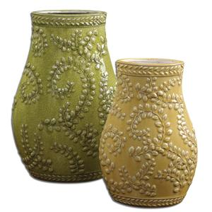 Uttermost Accessories Trailing Leaves Set of 2