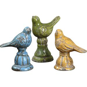 Uttermost Accessories Bird Trio Set of 3