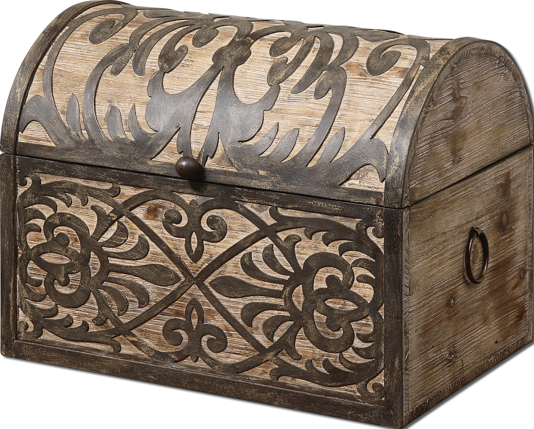 Uttermost Accessories Abelardo Box - Item Number: 19709