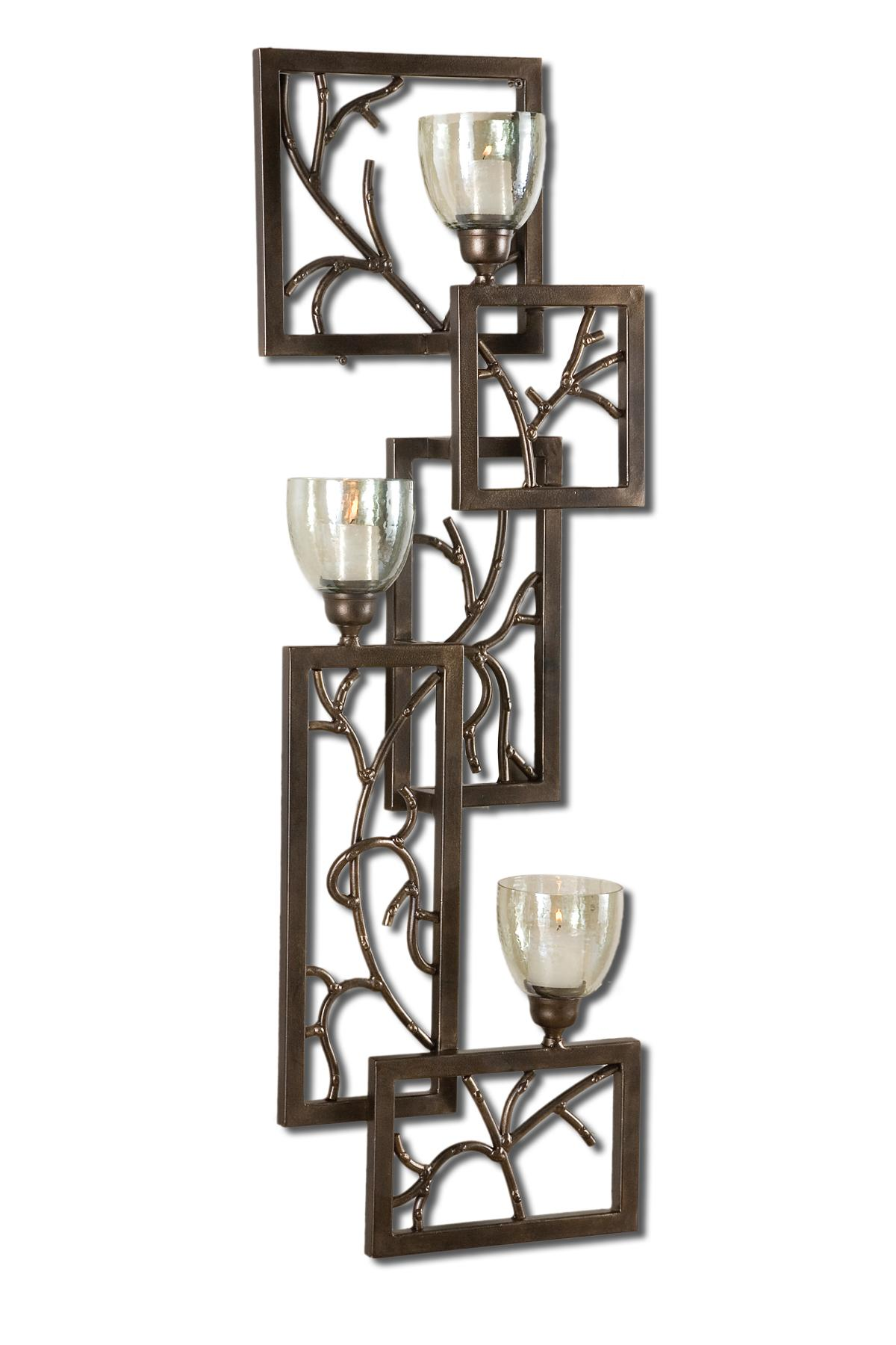 Uttermost Accessories Iron Branches Wall Sconce - Item Number: 19736