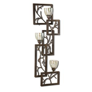 Iron Branches Wall Sconce
