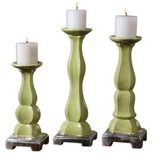 Uttermost Accessories Irwyn Candleholders Set of 3