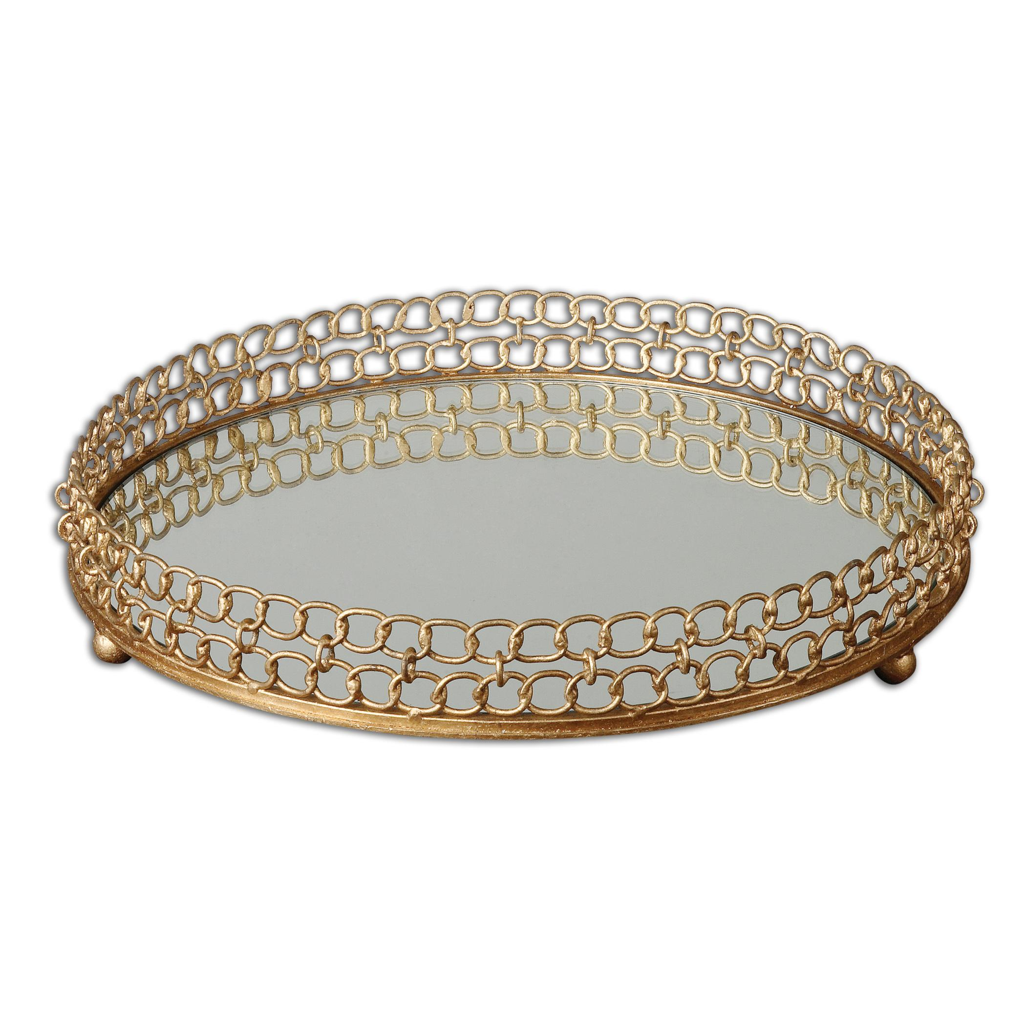 Uttermost Accessories Dipali Mirrored Tray - Item Number: 19807