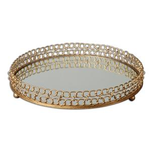 Uttermost Accessories Dipali Mirrored Tray